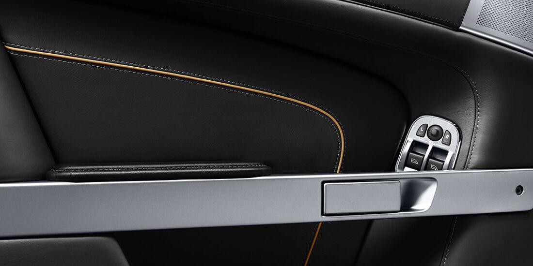 Aston Martin Virage, Türöffner, Türverkleidung