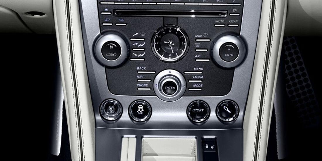 Aston Martin Virage Volante, Innenraum