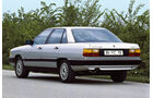 Audi 100, Heckansicht