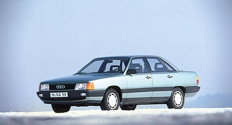 Audi 100 Quattro, Seitenansicht