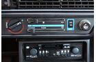 Audi 5000S, Detail, Radio, Belüftungsanlage