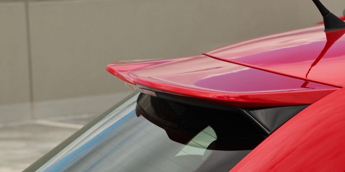 Audi A1 1.4 TFSI, Dachspoiler