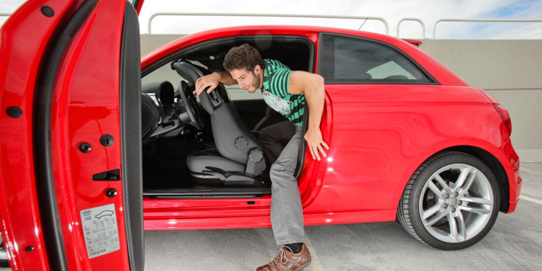 Audi A1 1.4 TFSI, Fond, Ausstieg
