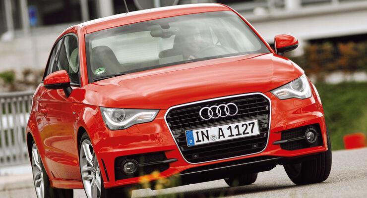Audi A1, Frontansicht