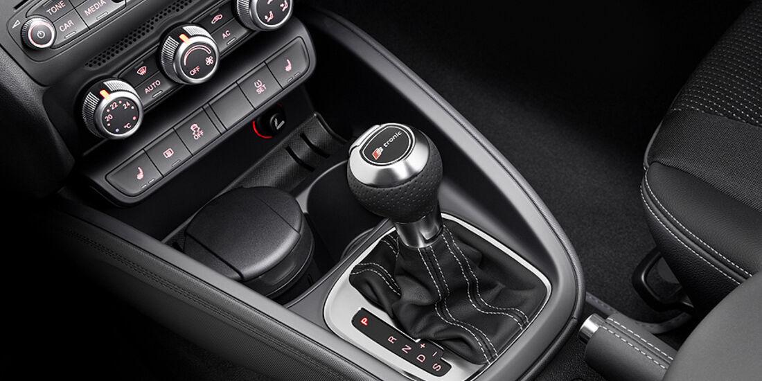 Audi A1 Sportback, Mittelkonsole