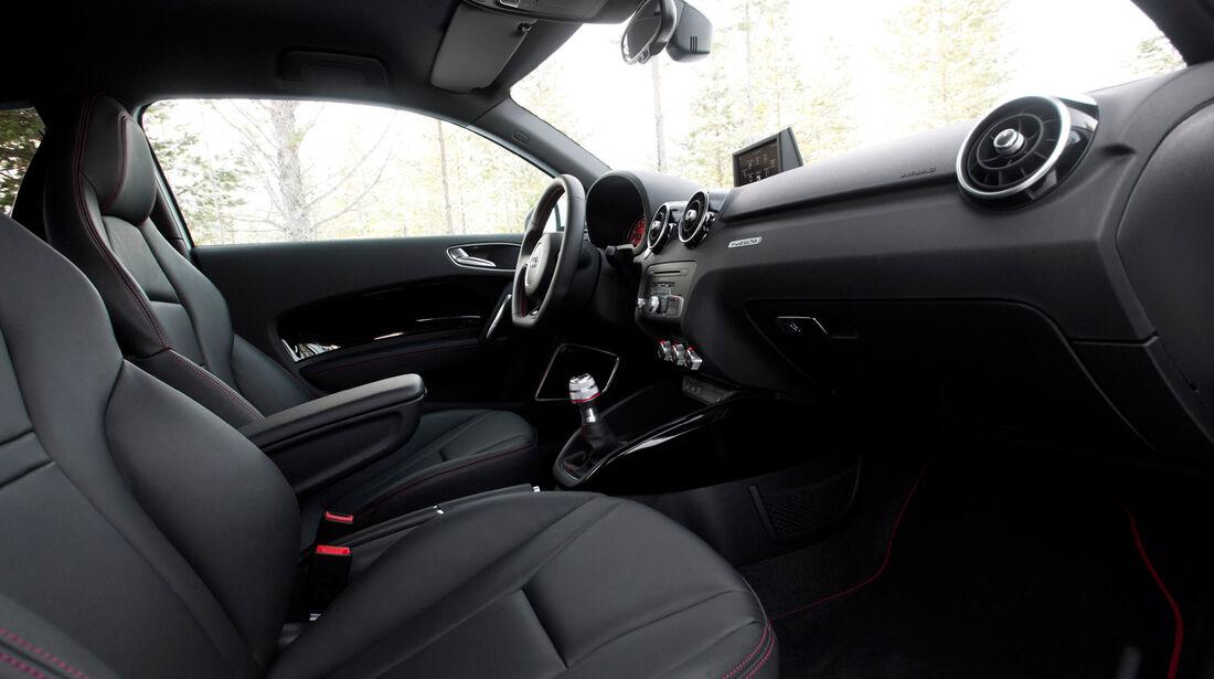 Audi A1 quattro, Cockpit, Sitze