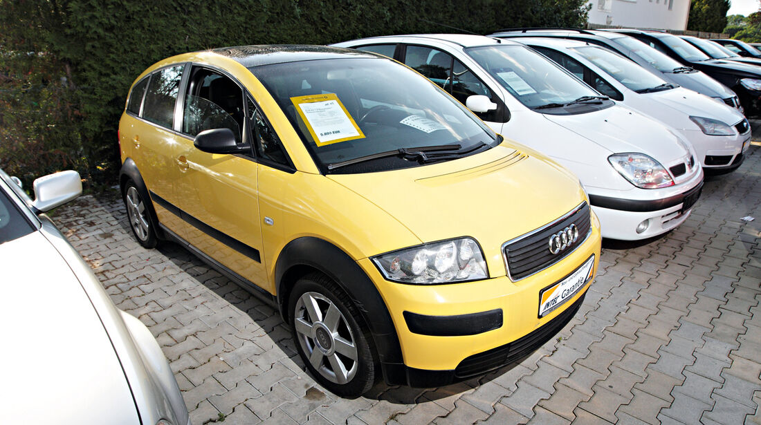 Audi A2 1.4, Frontansicht