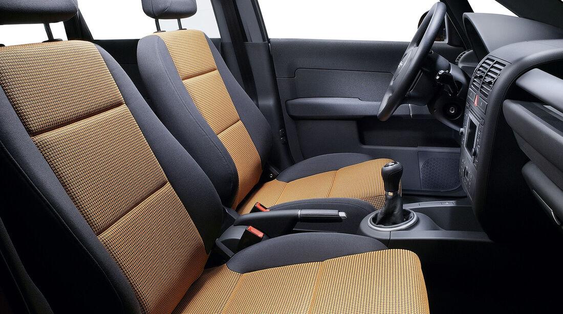 Audi A2, Auto der Woche, Innenraum
