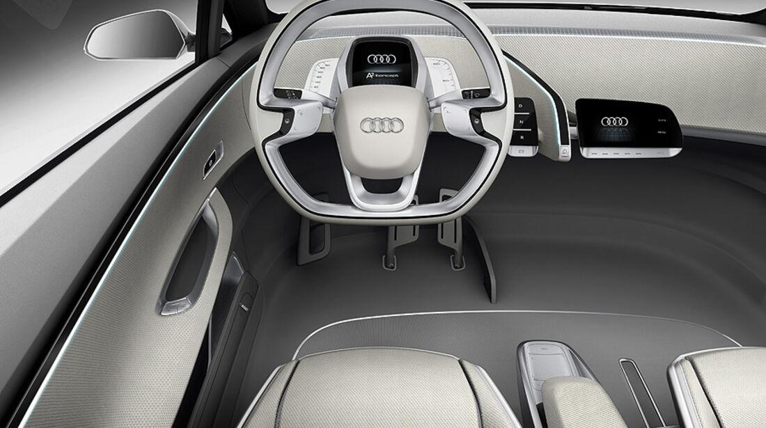 Audi A2 Concept, Innenraum, Cockpit