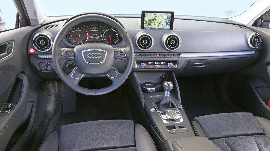 Audi A3 1.6 TDI Ultra, Cockpit