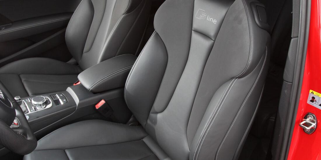 Audi A3 1.8 TFSI, Fahrersitz
