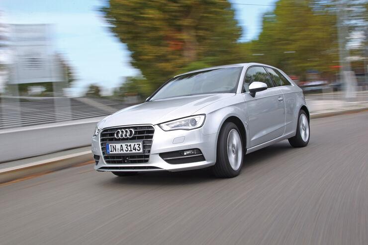 Audi A3 2.0 TDI, Seitenansicht