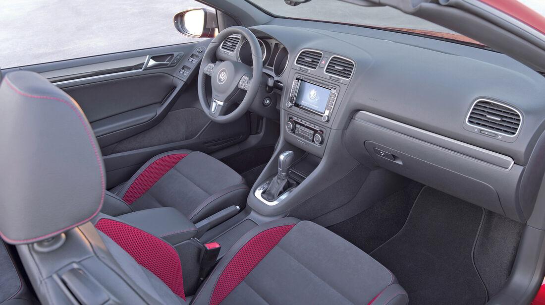 Audi A3 Cabrio, Cockpit