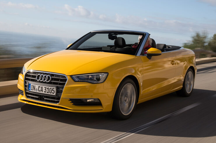 Audi A3 Cabriolet 1.4 TFSI, Frontansicht