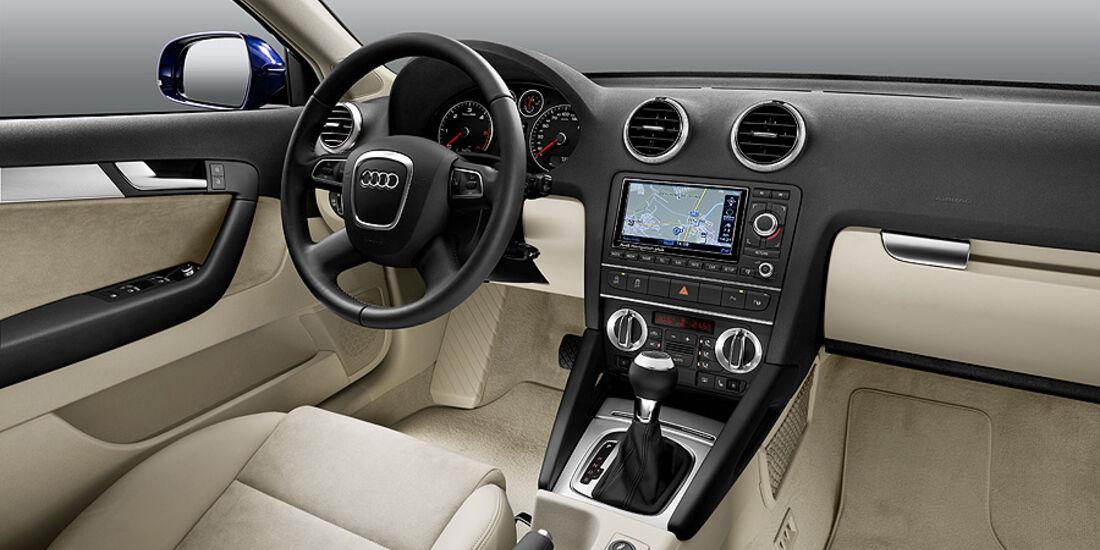 Audi A3, Facelift, Innenraum