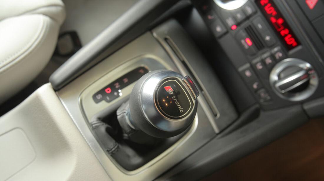 Audi A3 Sportback 1.4 TFSI, Schalthebel, Schaltknauf