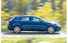 Audi A3 Sportback 1.4 TFSI, Seitenansicht