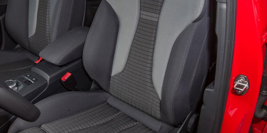 Audi A3 Sportback 1.6 TDI, Fahrersitz
