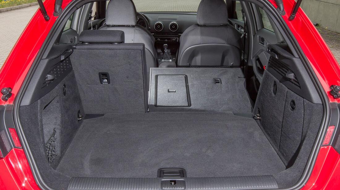 Audi A3 Sportback 1.6 TDI, Ladefläche