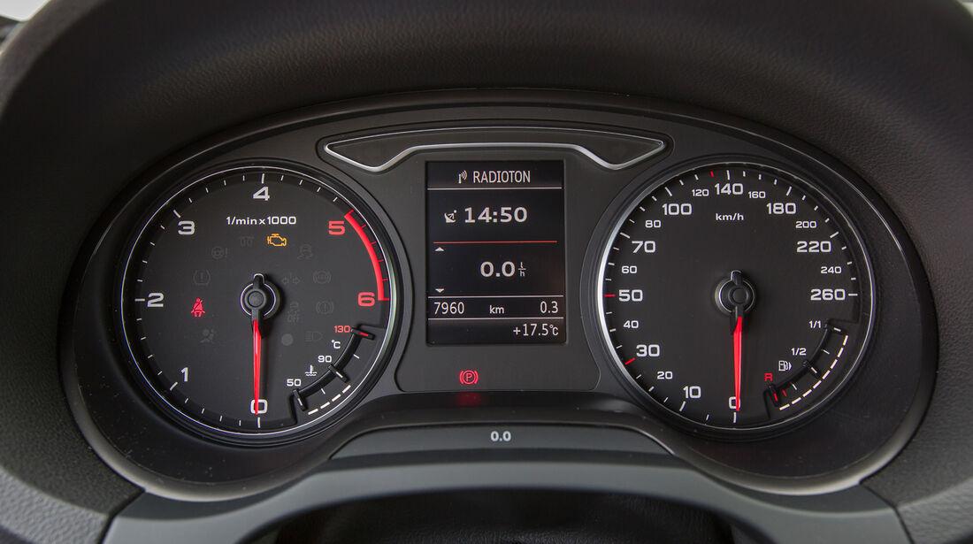 Audi A3 Sportback 1.6 TDI, Rundinstrumente