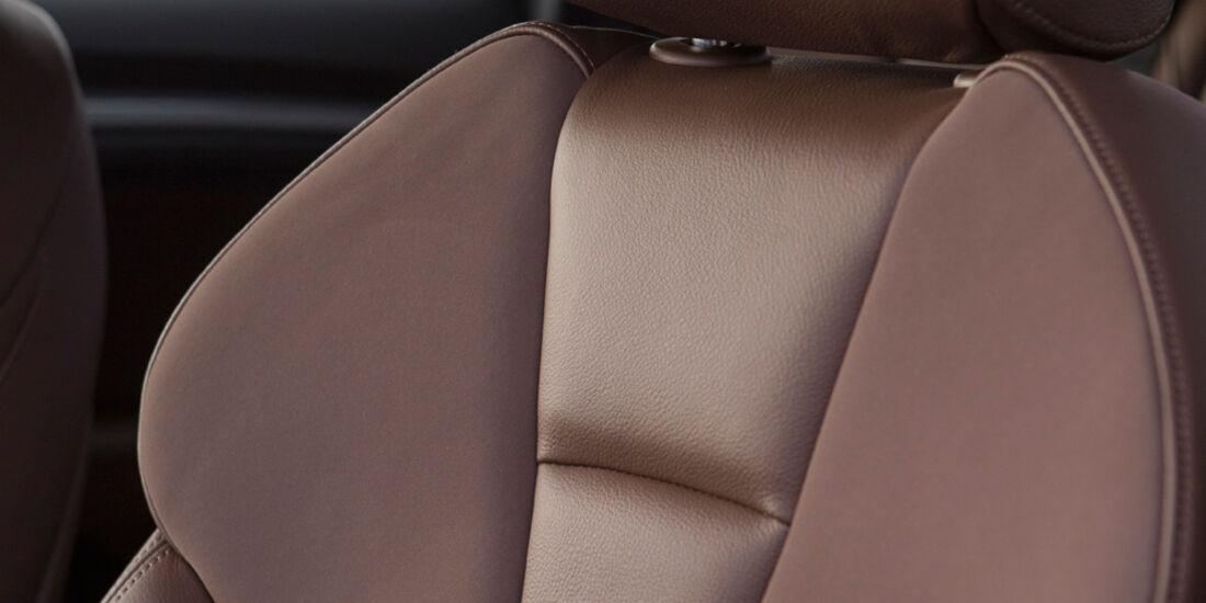 Audi A3 Sportback, Fahrersitz