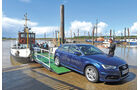 Audi A3 Sportback g-tron, Frontansicht, Fähre