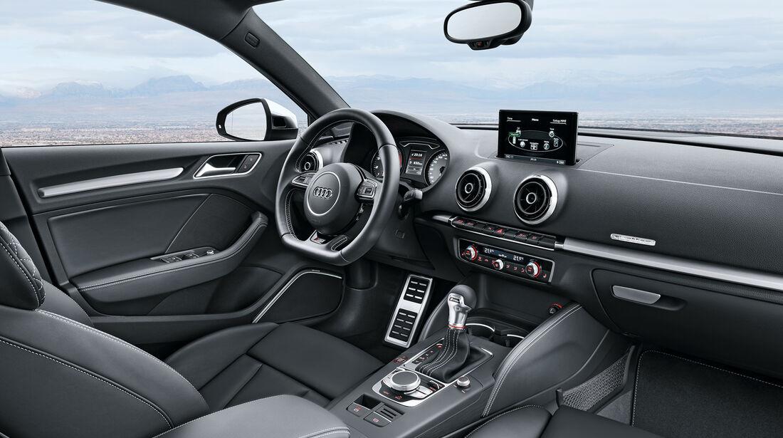 Audi A3 Stufenheck, Cockpit, Lenkrad