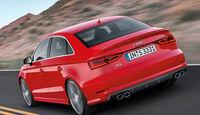Audi A3 Stufenheck, Heckansicht