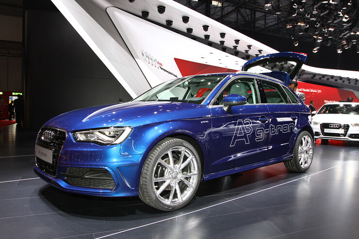audi a3 sportback g tron auf dem autosalon genf mit. Black Bedroom Furniture Sets. Home Design Ideas
