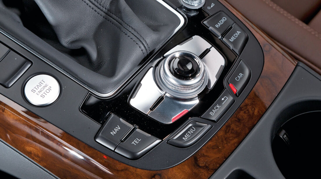 Audi A4 1.8 TFSI, Mittelkonsole
