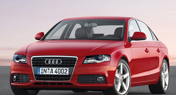 gebrauchtwagen audi a4 im m ngelreport audi a4. Black Bedroom Furniture Sets. Home Design Ideas