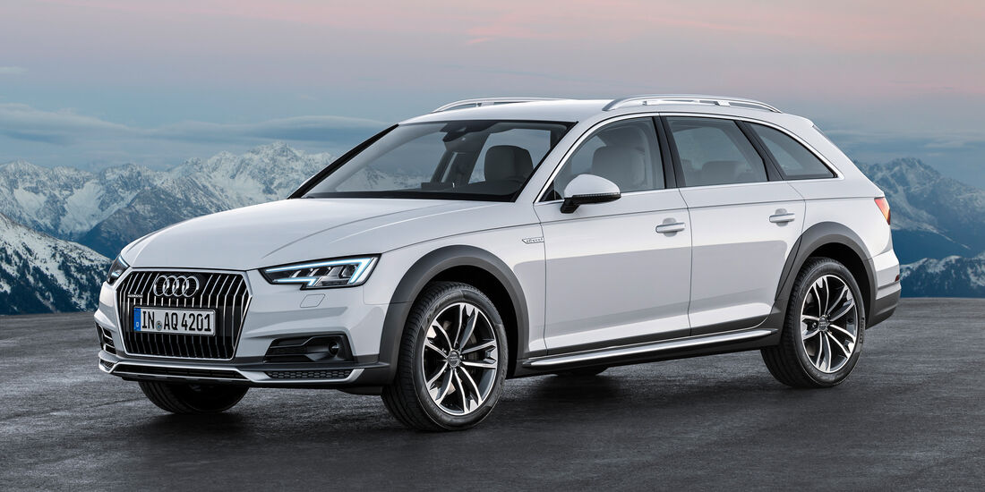 Audi A4 Allroad, Frontansicht