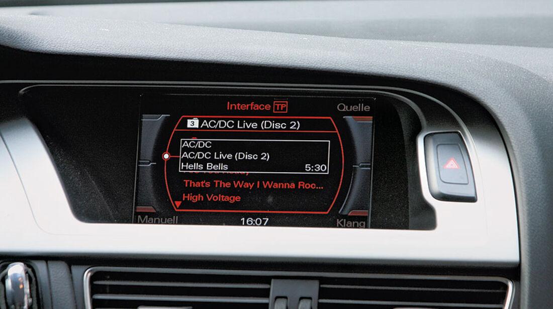 Audi A4 Avant 1.8 TFSI, Music Interface