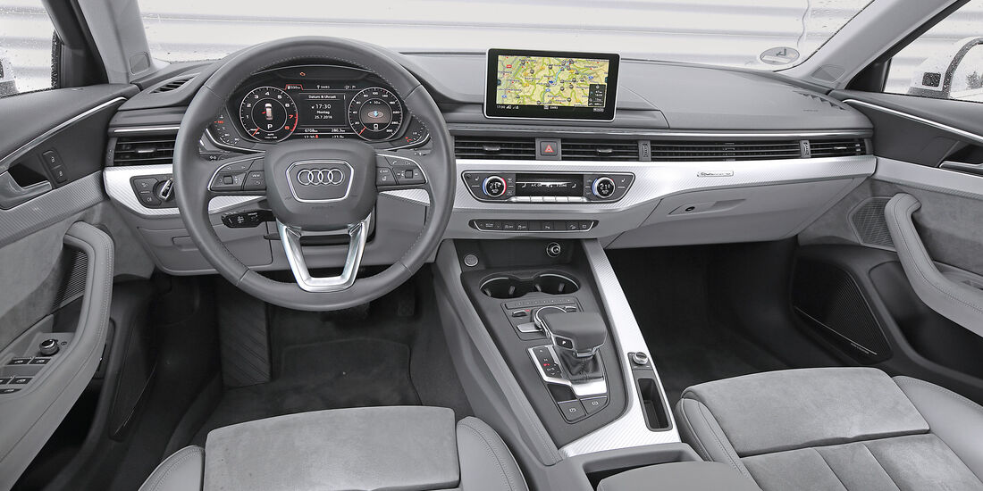 Audi A4 Avant 2.0 TDI, Cockpit