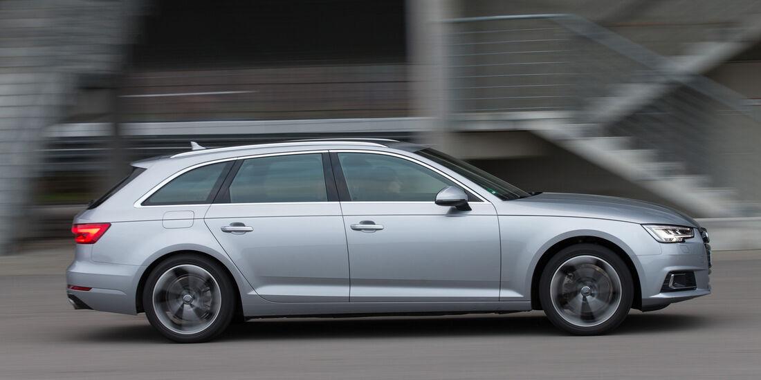 Audi A4 Avant 2.0 TFSI, Seitenansicht