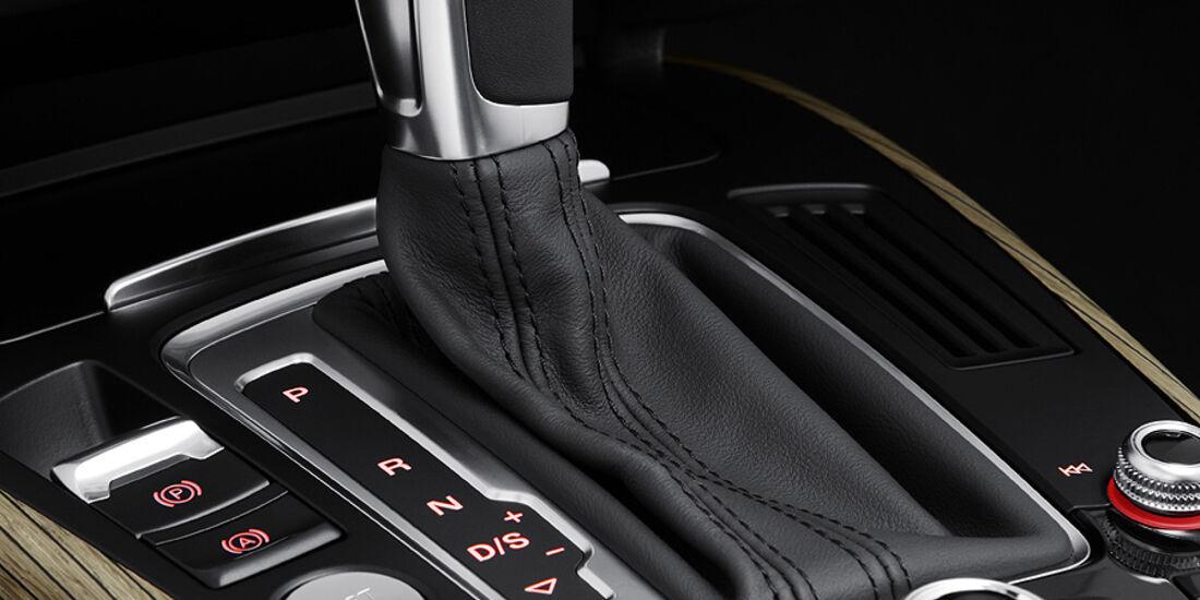 Audi A4, Wählhebel