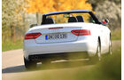 Audi A5 Cabrio 2.0 TDI, Heckansicht