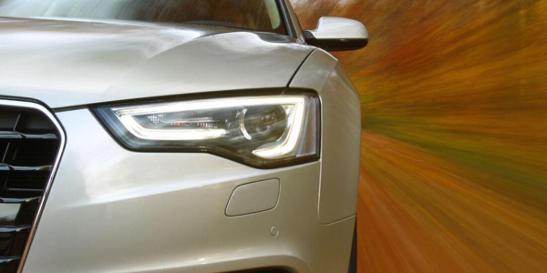 Audi A5 Sportback 1.8 TFSI, Scheinwerfer, Seitenlinie