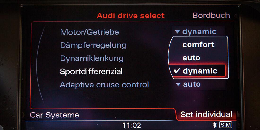 Audi A5 Sportback 3.0 TFSI, Bordcomputer