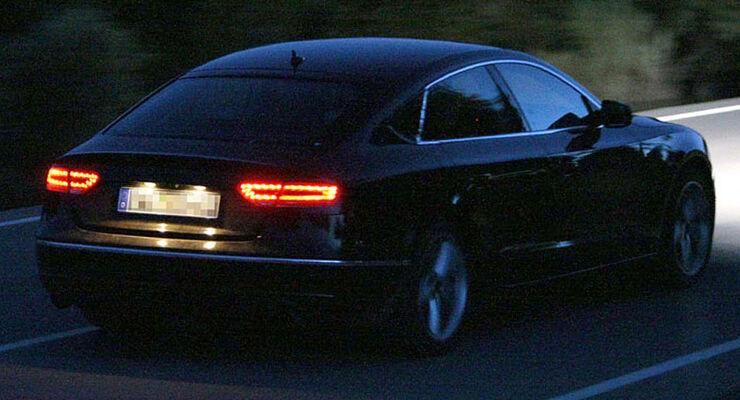 Audi A5 Sportback Erlkönig
