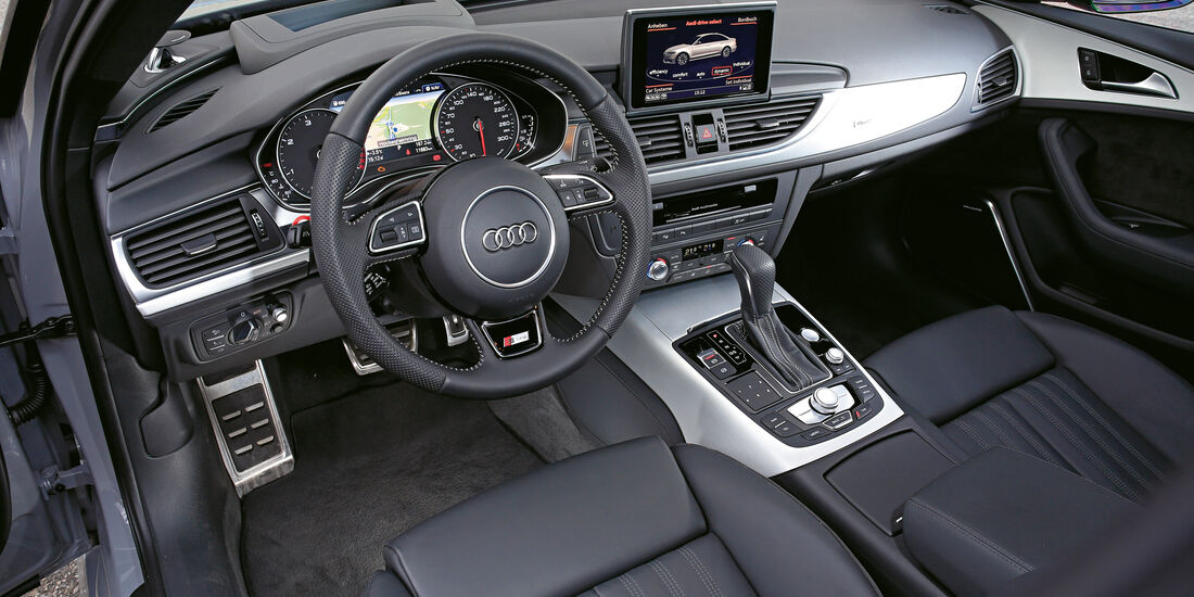Audi A6 3.0 TDI Competition, Cockpit