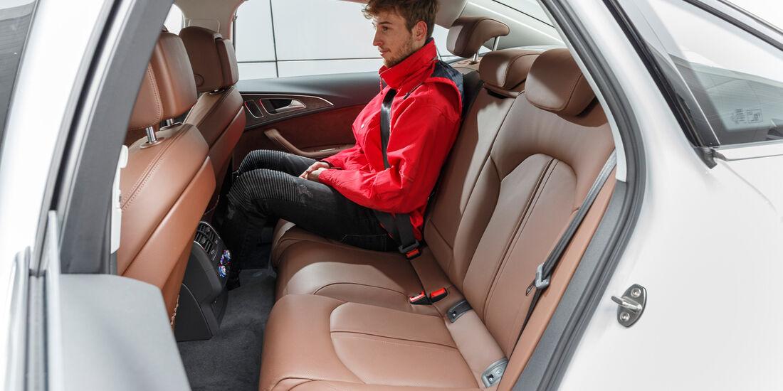 Audi A6 3.0 TDI Quattro, Fondsitze
