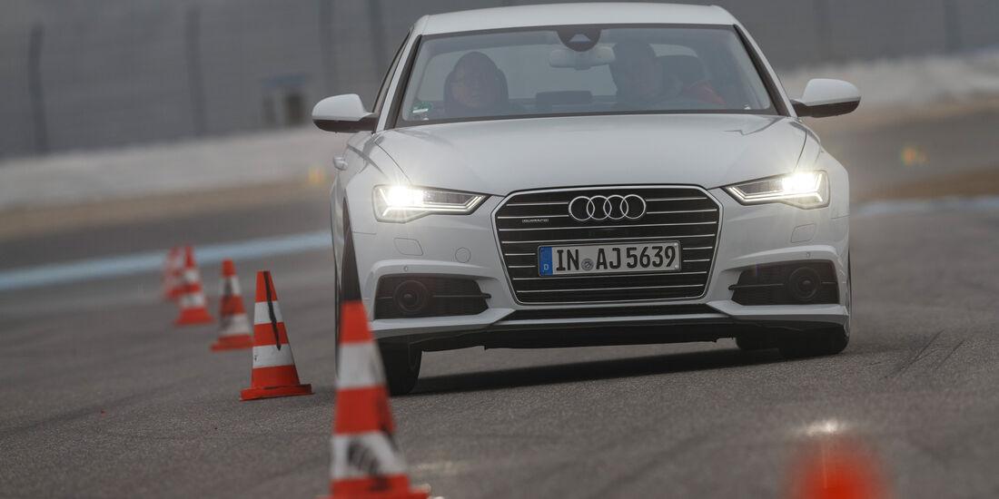 Audi A6 3.0 TDI Quattro, Frontansicht