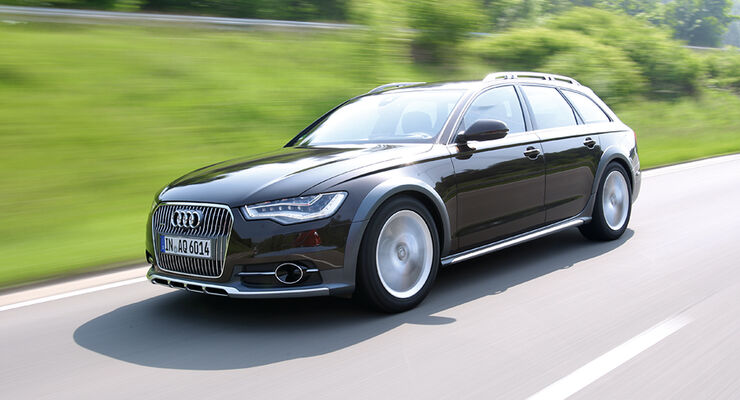 audi a6 allroad 3 0 tdi im test auto motor und sport. Black Bedroom Furniture Sets. Home Design Ideas