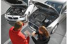 Audi A6 Avant 2.0 TDI Ultra, BMW 520d Touring, Motor