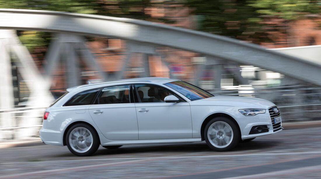 Audi A6 Avant 3.0 TDI, Seitenansicht