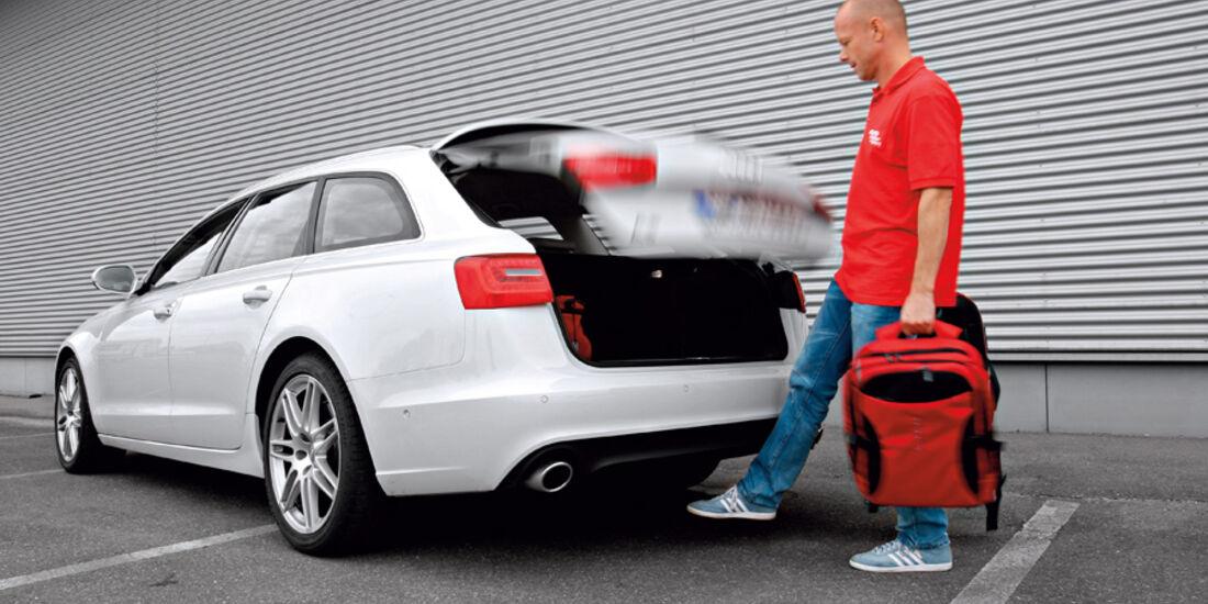 Audi A6 Avant, 3.0 TDi, Kofferraum