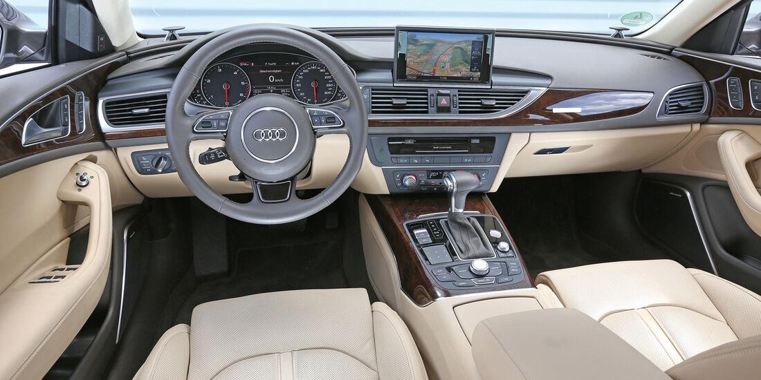 Audi A6 Avant, Cockpit
