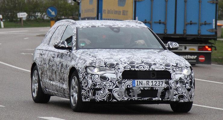 Audi A6 Avant Erlkönig