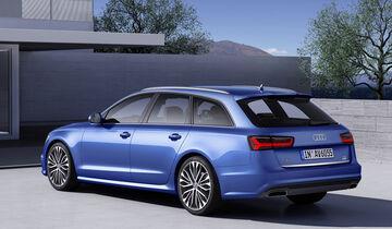 Audi A6, Heckansicht
